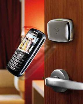 Дверь откроет мобильник